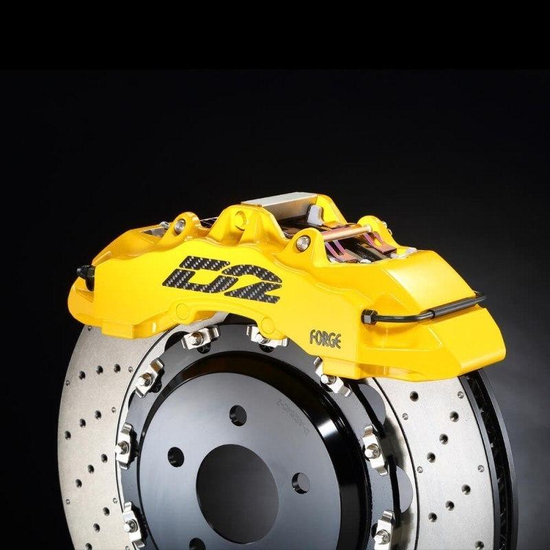 Big Brake Kit D2 Audi A1 1.2 TFSI (8X) 11~UP Przód - GRUBYGARAGE - Sklep Tuningowy